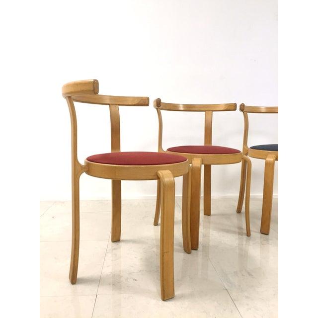Image of Danish Magnus Olesen Stacking Chairs - Set of 5