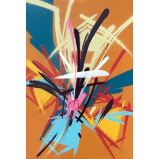 "Bob Peck ""Cut a Swath"" Painting"