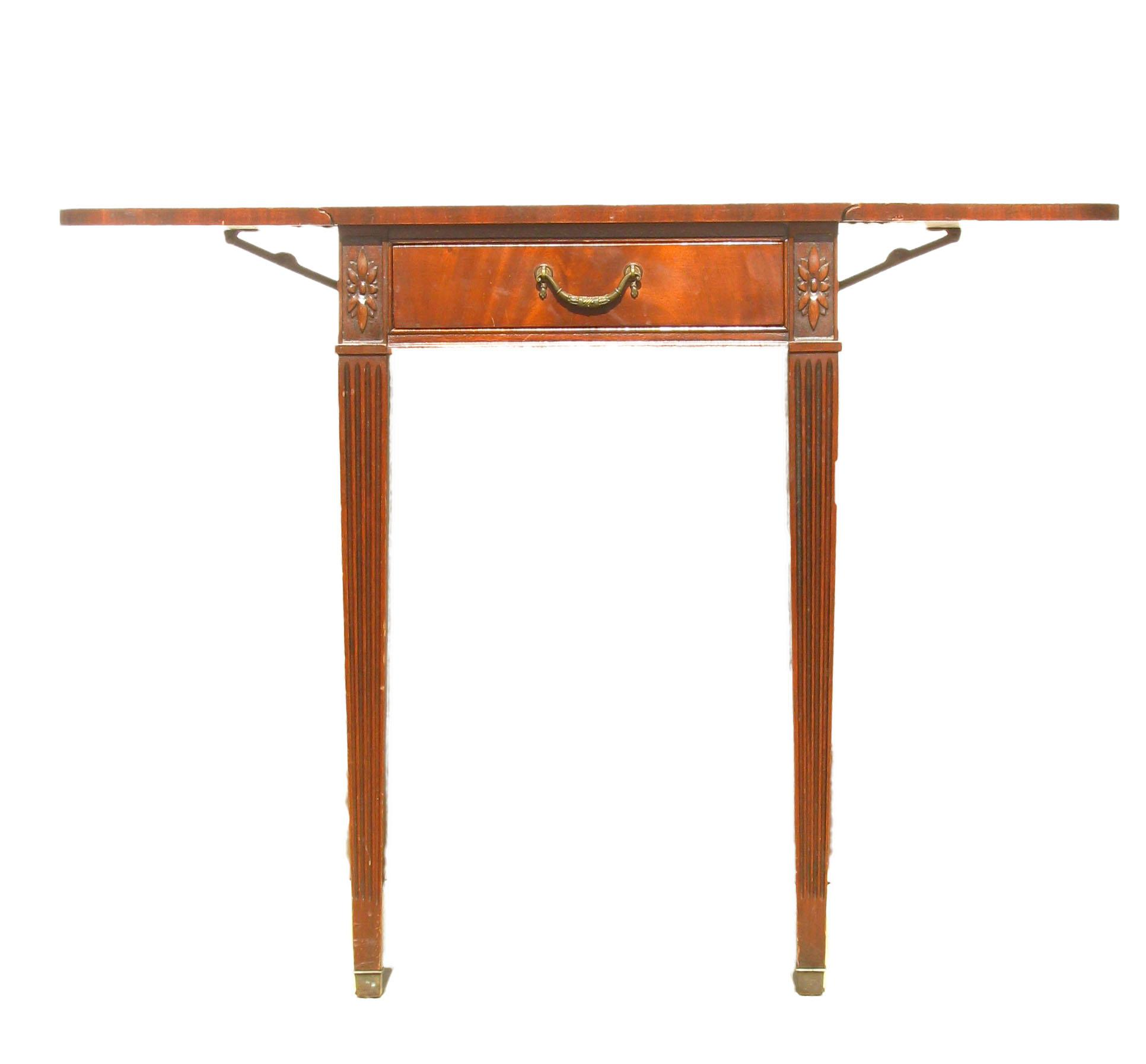 1920s Imperial Furniture Pembroke Mahogany Drop Leaf Table   Image 4 Of 9
