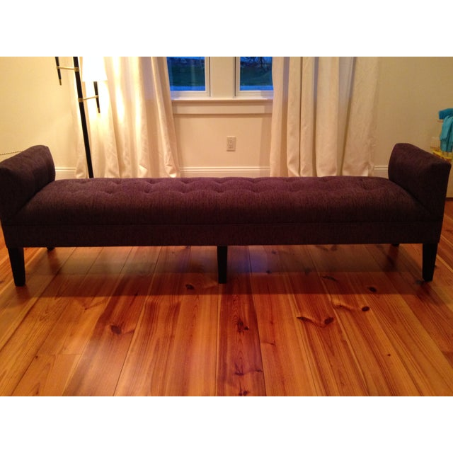 Mitchell Gold + Bob Williams Tufted Bench - Image 2 of 7