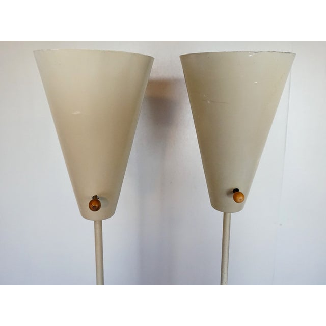 Image of David Wurster Vintage 1950s Torchieres - A Pair