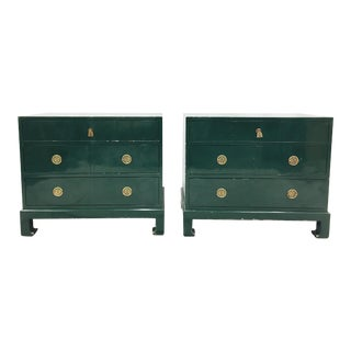Asian Lacquered Chests - A Pair