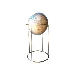 Paul McCobb Style Mid Century Brass Globe