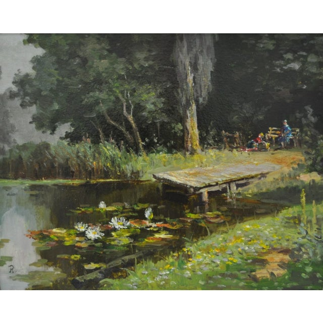 Image of 20th C. Oil Painting by Rudolf Andre