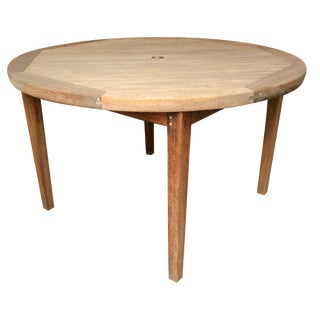 Danish Teak Patio Table