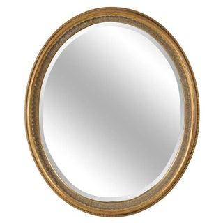 1950s Italian Oval Wall Mirror