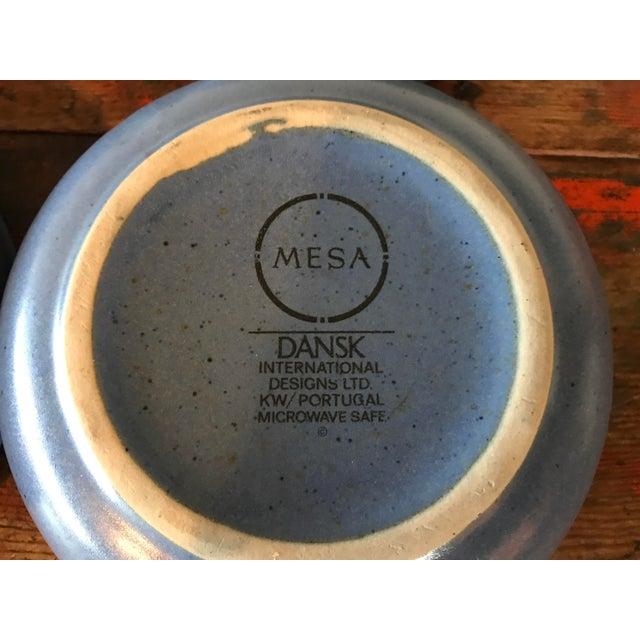 Dansk Mesa Blue Cereal Bowls - Set of 4 - Image 6 of 6
