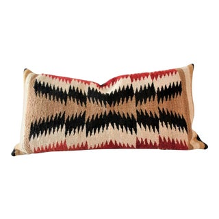 Geometric Navajo Eye Dazzler Bolster Pillow