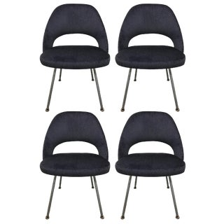 1960 Knoll Saarinen Executive Side Chairs - Set of 4