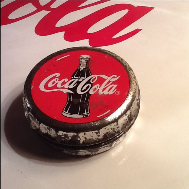 Vintage Coca Cola Cap Tin - Image 2 of 10
