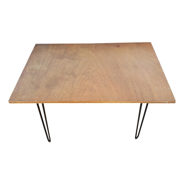 Rustic Hairpin Leg Coffee Table Chairish