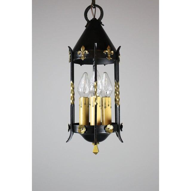 Spanish Colonial Lantern by Moe Bridges Co. - Image 6 of 7