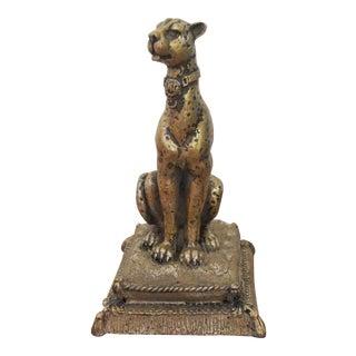 Vintage Leopard Figurine