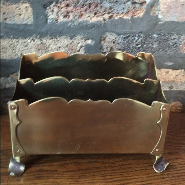Image of Brass Letter Holder