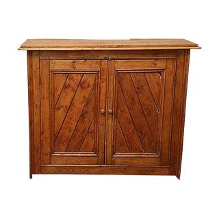 Vintage Rustic Pine Sideboard