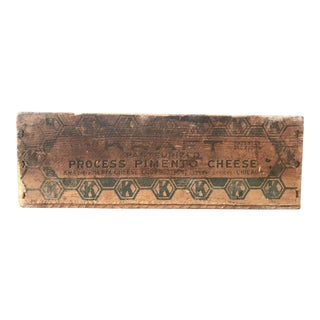 Vintage Kraft Pimento Cheese Box