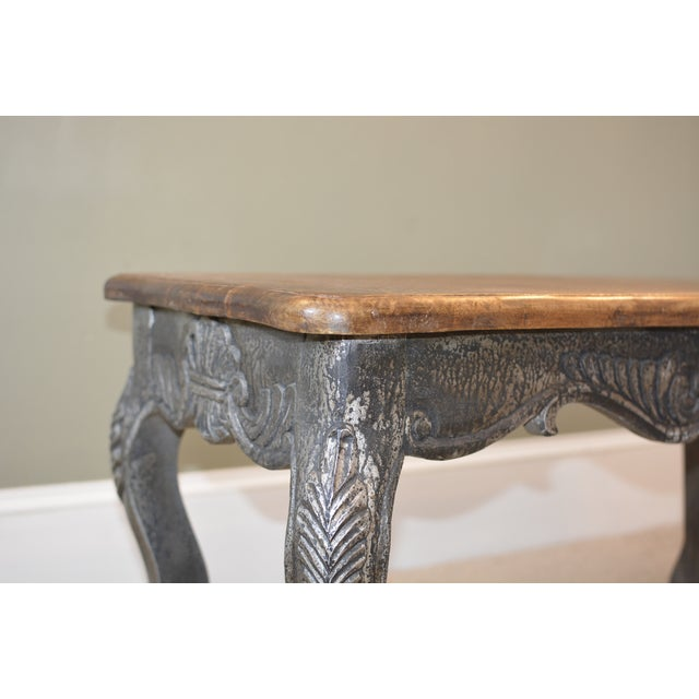 Hand carved oak coffee table chairish Hand carved coffee table