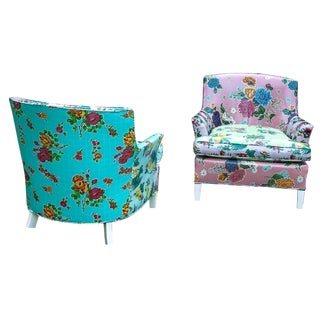 BAB3D Collage The Edna and the Flo Accent Chair