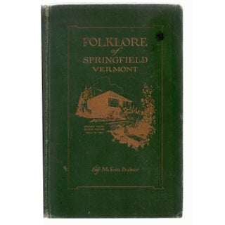Folklore Of Springfield Book