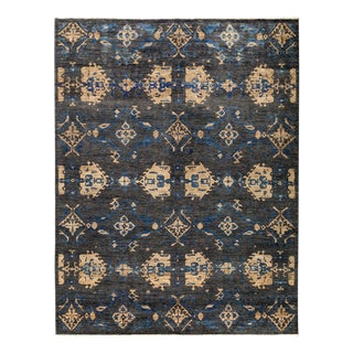 """Eclectic, Hand Knotted Area Rug - 7' 10"""" x 10' 4"""""""
