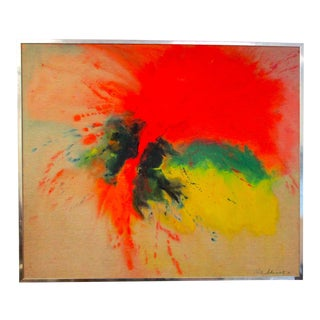 1970's Abstract Oil Painting