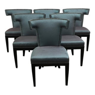 Custom Designed Formal Dining Chairs - Set of 6