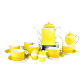 Vintage Lemon Porcelain Luncheon Service