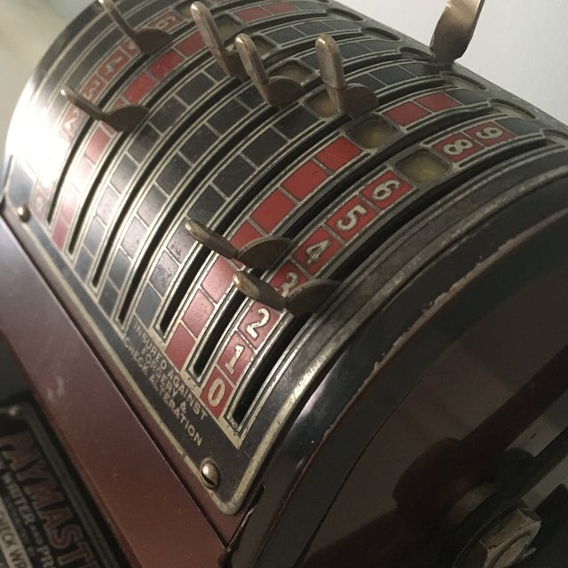 1930s Antique Paymaster Office Check Writer - Image 6 of 11