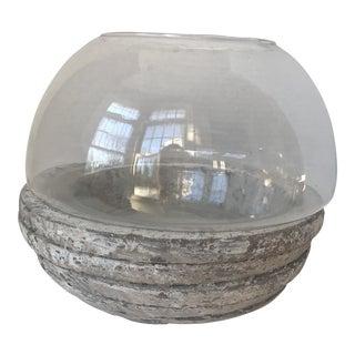 Concrete & Glass Terrarium