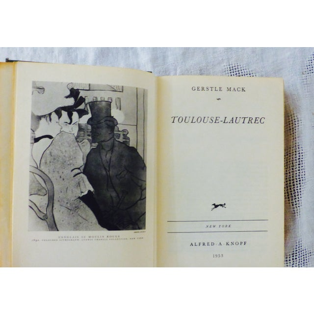 Toulouse-Lautrec Book, 1953 - Image 3 of 9