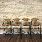 Image of Arthur Umanoff Mid-Century Modern Bar Stools- Set of 4