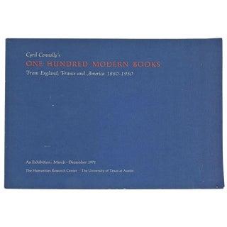 """One Hundred Modern Books"" Exhibition"