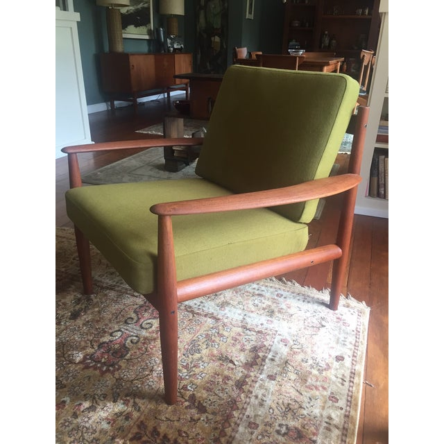 Grete Jalk Chartreuse Lounge Chair - Image 3 of 11