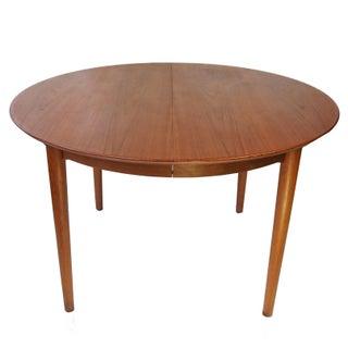Borge Rammeskov Danish Round Dining Table