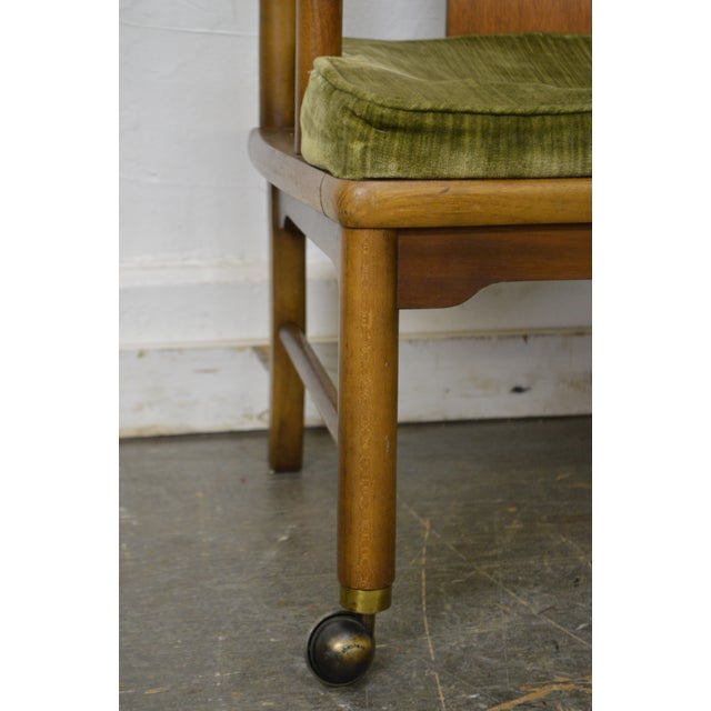 Edward Wormley Dunbar Style Mid-Century Barrel Back Chairs - A Pair - Image 6 of 11