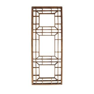 Vintage Zen Wood Wall Panel