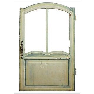 Antique Caravan Door