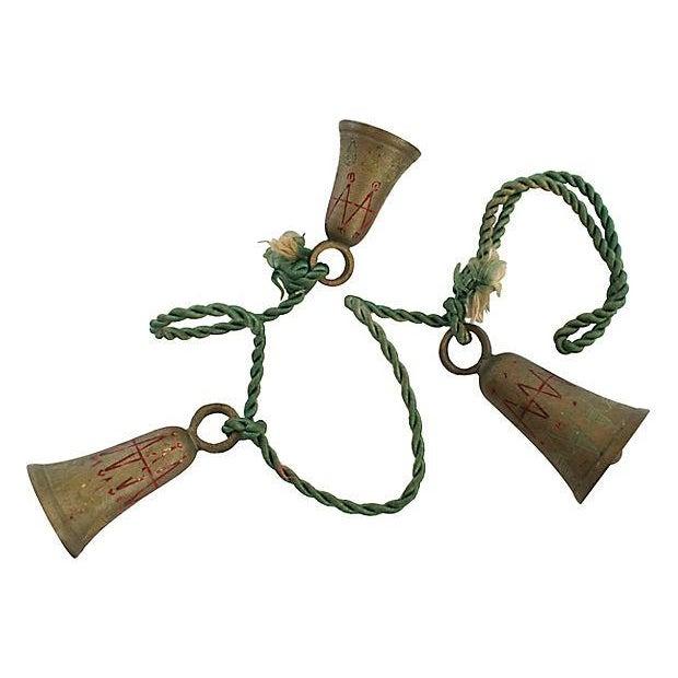 "1950s Brass ""Bells of Sarna India"" - Image 3 of 3"