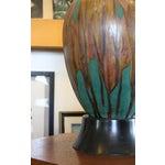 Image of Ceramic Gourd Shaped Lamp