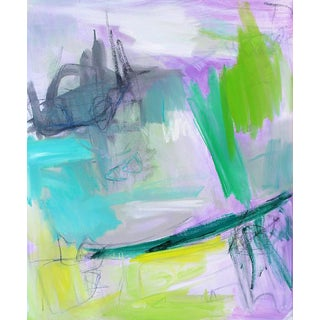 """""""Bermuda Byway""""Abstract Oil Painting by Trixie Pitts"""