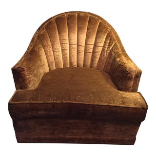 Kroehler Shell Back Lounge Chair