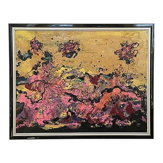French Abstract Expressionist Painting