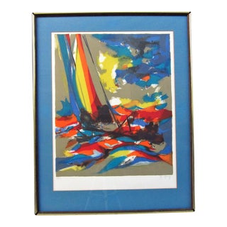 """Boats"" by Marcel Mouly"