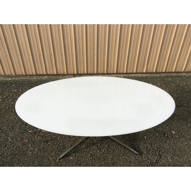 Florence Knoll Table Special Order Thassos Marble - Image 5 of 10