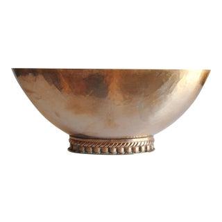 Vintage Brass Bowl / Planter