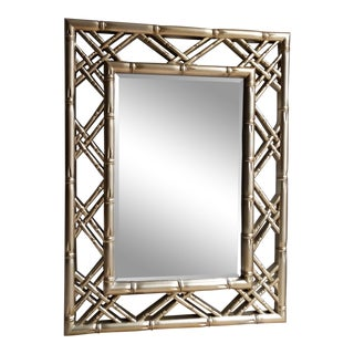 Gilded Bamboo Mirror