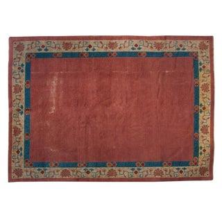 "19th Century Chinese Peking Carpet - 7' x 8'8"""