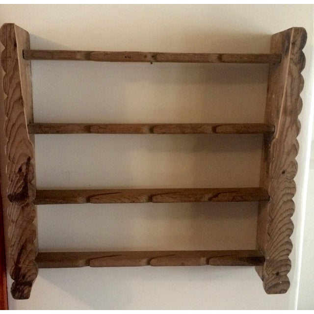 Image of Mexican Southwest Wooden Shelf or Rack