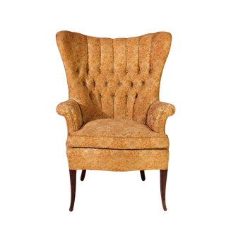 Vintage Wingback Accent Chair