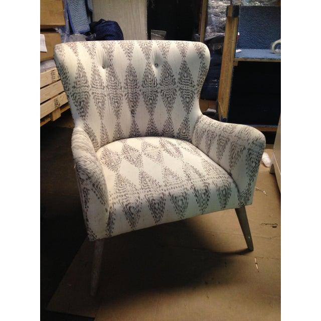 Hardword Frame Lounge Chair - Image 2 of 8